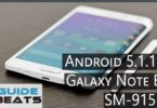 How to Install Android 5.1.1 Lollipop on Galaxy Note Edge SM-915F