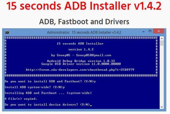 Setup ADB\Fastboot Drivers