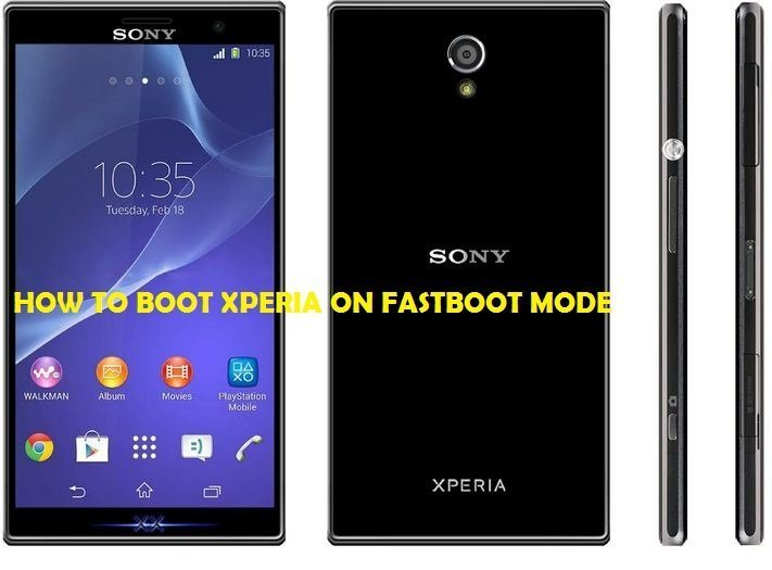 boot Sony Xperia on Fastboot Mode