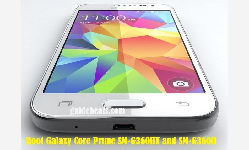 Root Galaxy Core Prime SM-G360HU and SM-G360H/DS