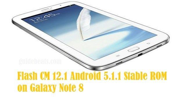 Galaxy Note 8 Wi-Fi N5110