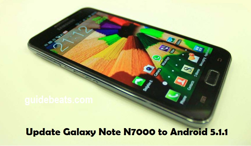 update Galaxy Note N7000 to Android 5.1.1