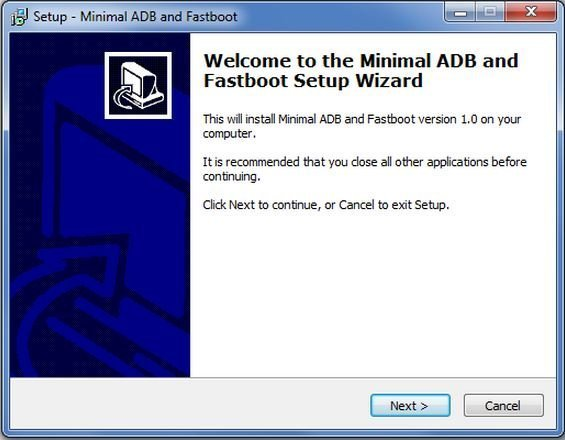 How to install Minimal ADB & Fastboot Flash Tool on Win