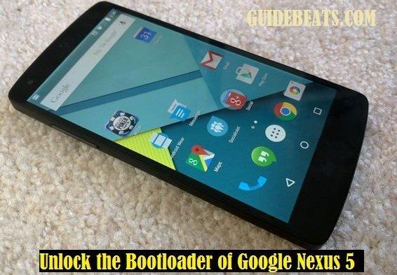 Unlock the Bootloader of Google Nexus 5