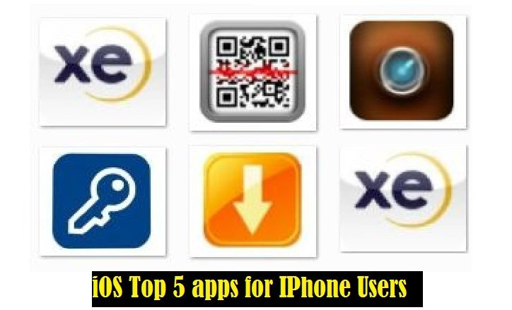 iOS Top 5 apps for IPhone Users