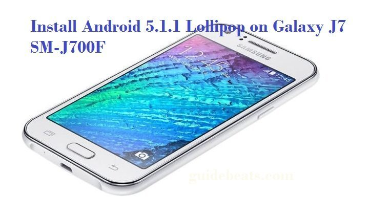 Android 5.1.1 Lollipop on Galaxy J7
