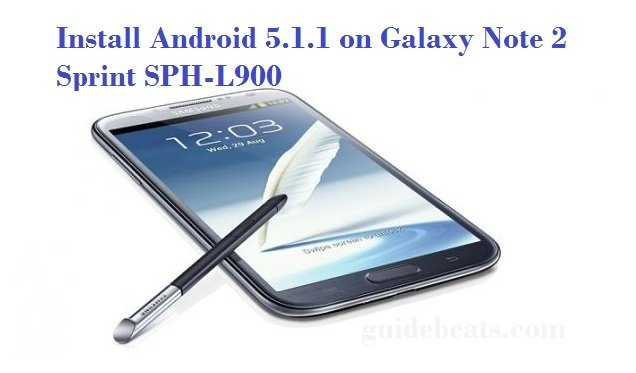 Android 5.1.1 on Galaxy Note 2 Sprint