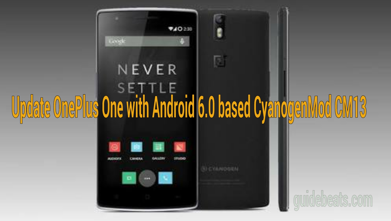 Update OnePlus One with Android 6.0