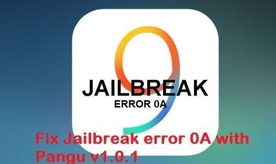 Jailbreak error 0A