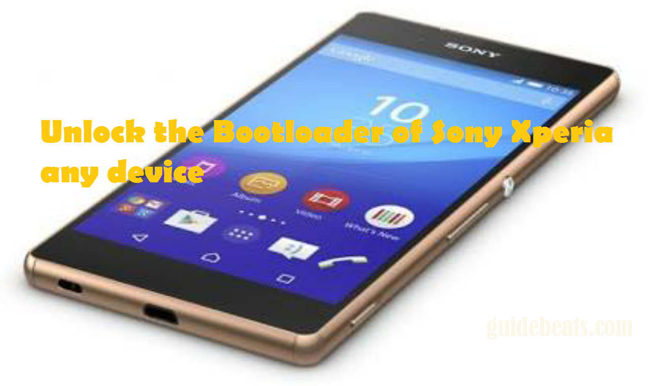 Unlock the Bootloader of Sony