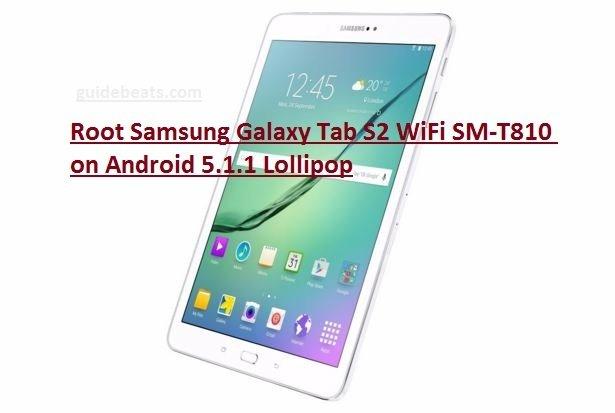 root Samsung Galaxy Tab S2