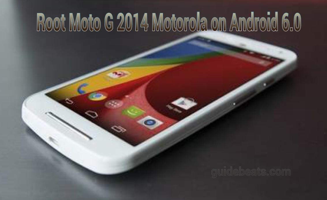 root Moto G 2014