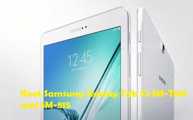 root Galaxy Tab S2 SM-T810 and SM-815