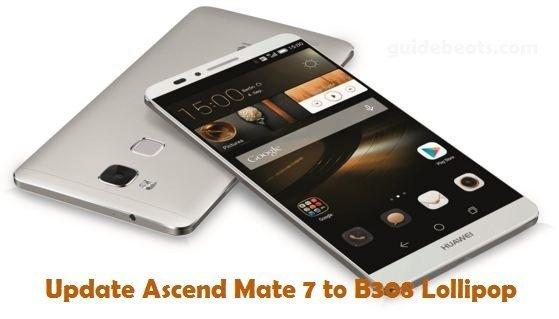 update Huawei Ascend Mate 7