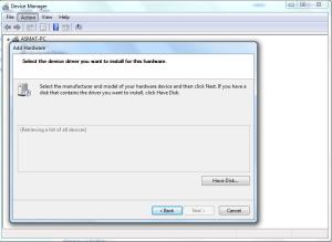 Install MediaTek VCOM USB Drivers