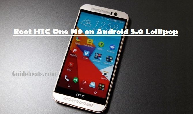 root HTC One M9 on Android 5.0 Lollipop