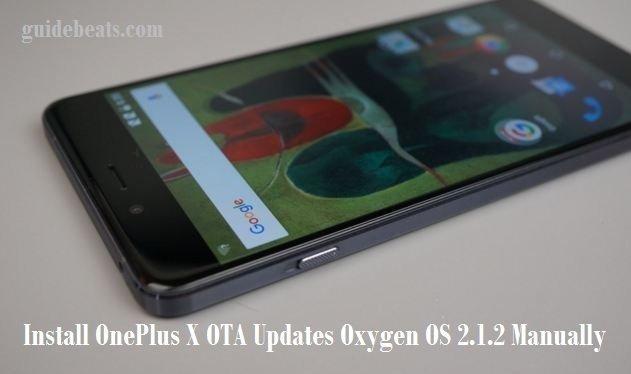 Install OnePlus X OTA Updates Oxygen OS 2.1.2