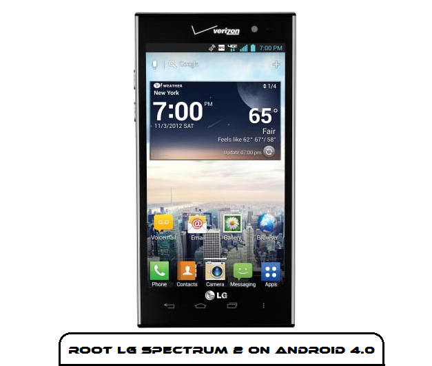 Guide to Root LG Spectrum 2 on Android 4.0 Ice Cream Sandwich