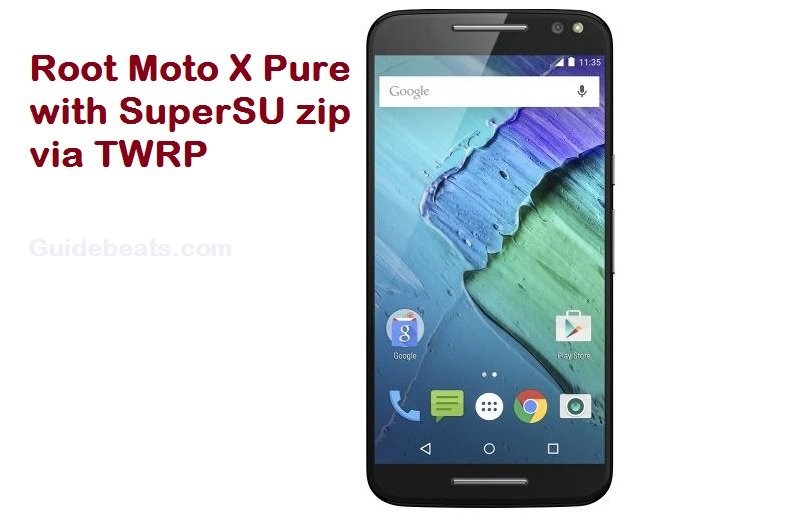 Root Moto X Pure with SuperSU