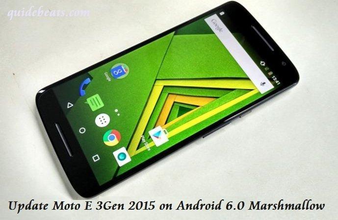 Update Moto E 3Gen 2015