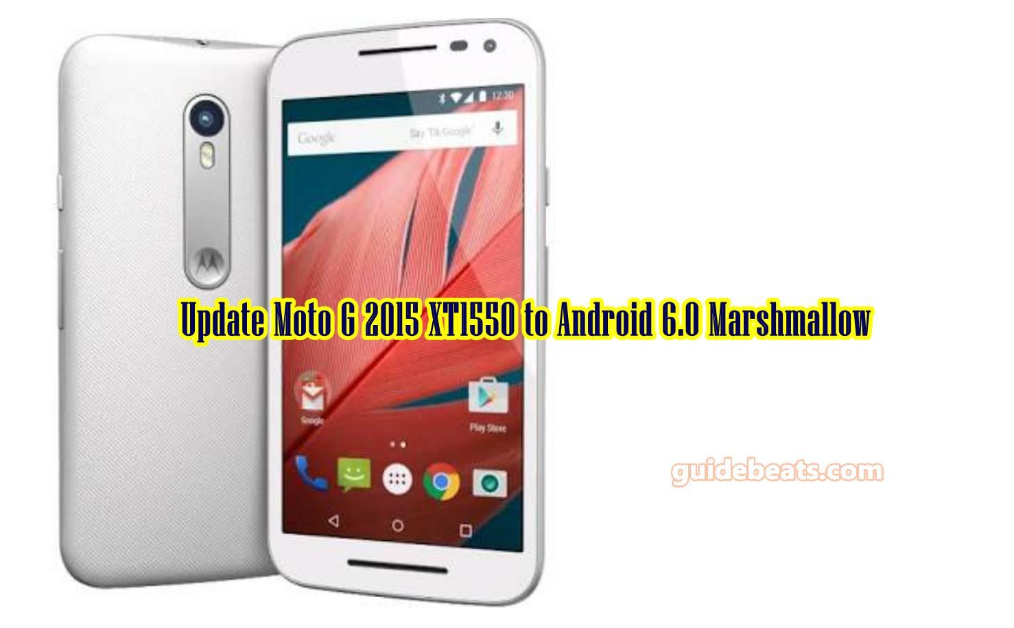 Update Moto G 2015 XT1550