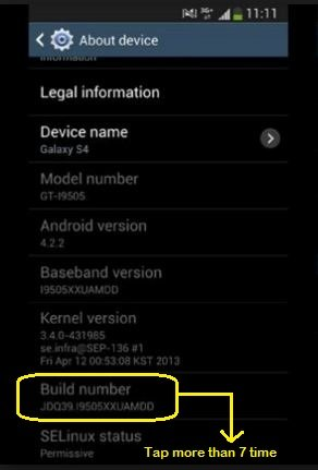 Enable USB Debugging Mode on any Android Smartphone