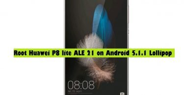 Root Huawei P8 lite ALE 21 on Android 5.1.1 Lollipop – Easy Guide
