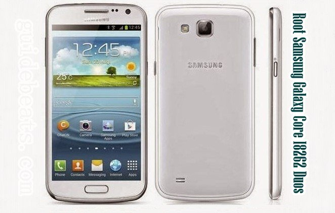 Root Samsung Galaxy Core I8262 Duos with Farmaroot apk