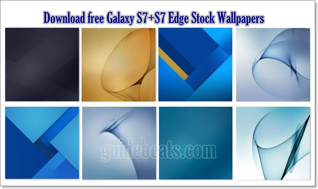 Download free Galaxy S7+S7 Edge Stock Wallpapers