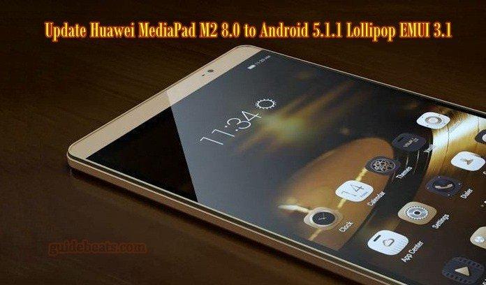 Update Huawei MediaPad M2