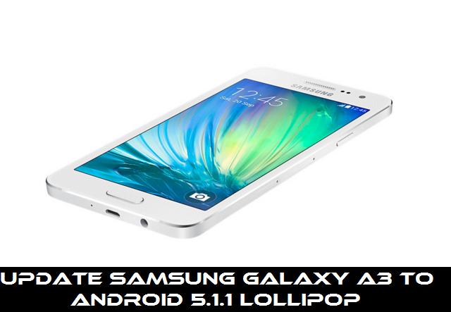 Update Samsung Galaxy A3
