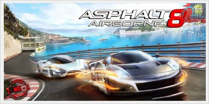 Asphalt 8 Airborne 1.8 Modded APK without Limitations