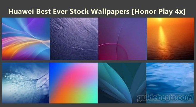 Huawei Best Ever Stock Wallpapers Honor Play 4x