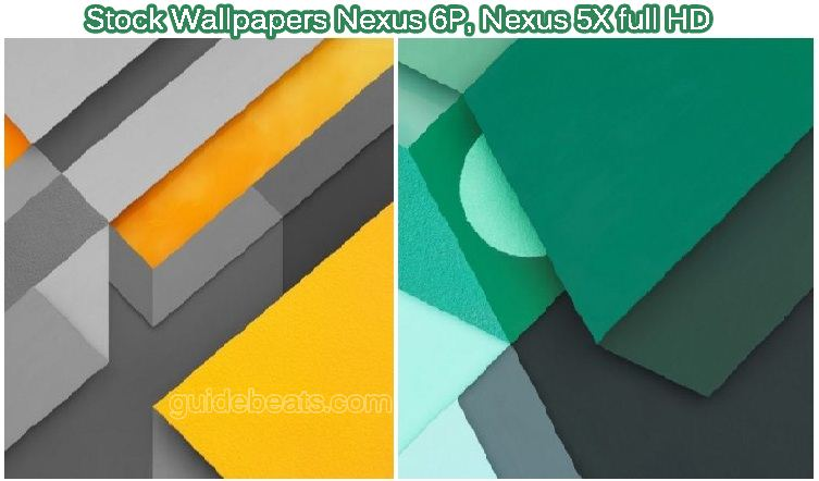 Download Stock Wallpapers Nexus 6P and Nexus 5X