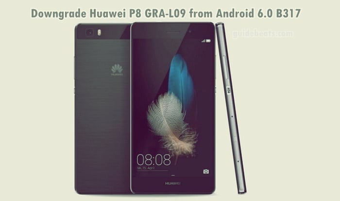 Downgrade Huawei P8 GRA-L09 from Android 6.0