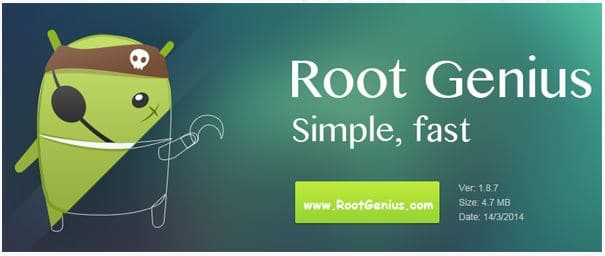 Latest Root Genius tool for Rooting Samsung and LG Android Devices