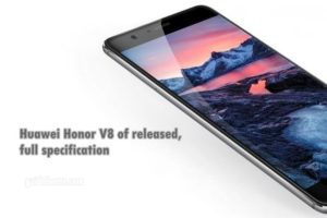 Honor V8 of Huawei released officially, all info and full specification