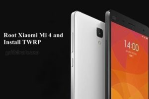 Root Xiaomi Mi 4 cancro Using SuperSU and Install TWRP