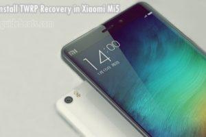 Xiaomi Mi5 TWRP Custom Recovery Installation Guide