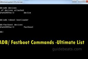 ADB/ Fastboot Commands -Ultimate List of Most Frequently Used on Android devices