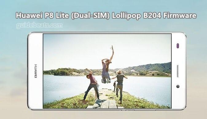 Huawei P8 Lite Lollipop B204 EMUI 3 1 Firmware (Dual-SIM) Europe