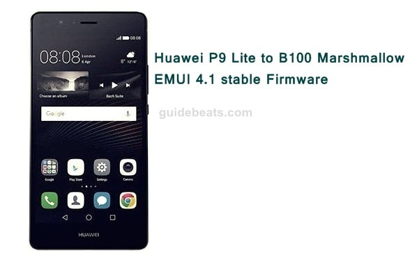 Update Huawei P9 Lite VNS-L31 to B100 Marshmallow EMUI 4.1 stable Firmware (Asia Pacific)