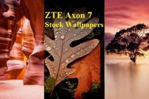 ZTE Axon 7 Stock Wallpapers