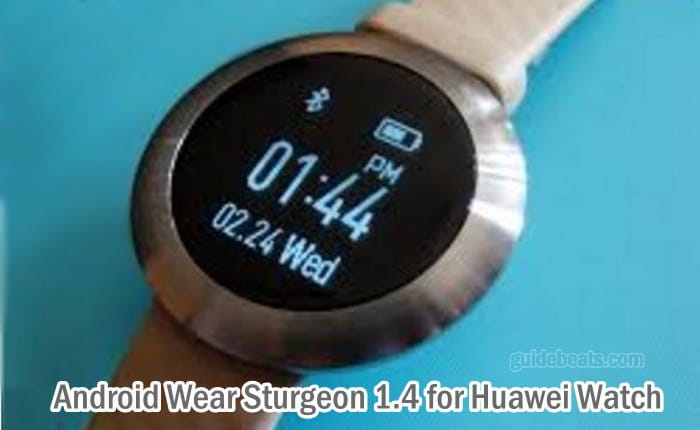 Install Android Wear Sturgeon 1.4 Marshmallow Updates Manually on Huawei Watch