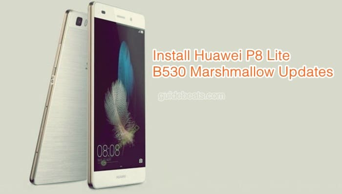 Install Huawei P8 Lite Android 6.0 ALE-L21C10B530 EMUI 4.0 Updates [Russia]