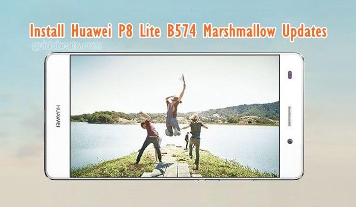 Install Huawei P8 Lite [Dual-SIM] EMUI 4.0 B574 Marshmallow Updates [Europe]