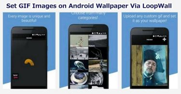 Set GIF Image on Android Wallpaper via LoopWall App