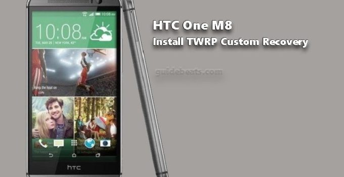 Install TWRP HTC One M8