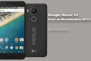 Root Google Nexus 5X on Marshmallow MTC19V Firmware