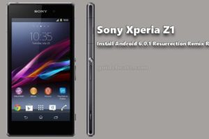 Install Xperia Z1 Android 6.0.1 Resurrection Remix Custom ROM